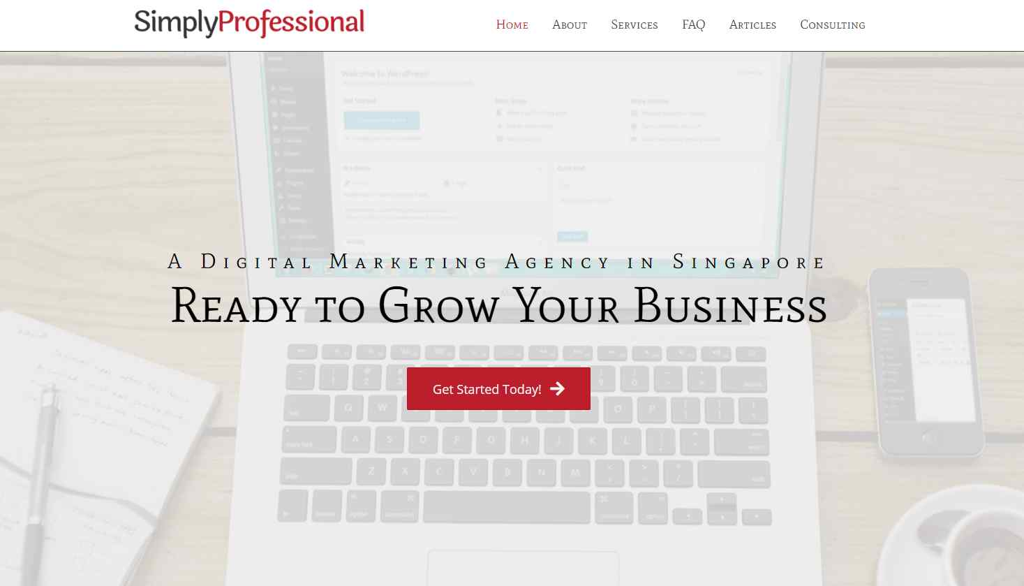 simply professional Website Copywriting The Complete Guide