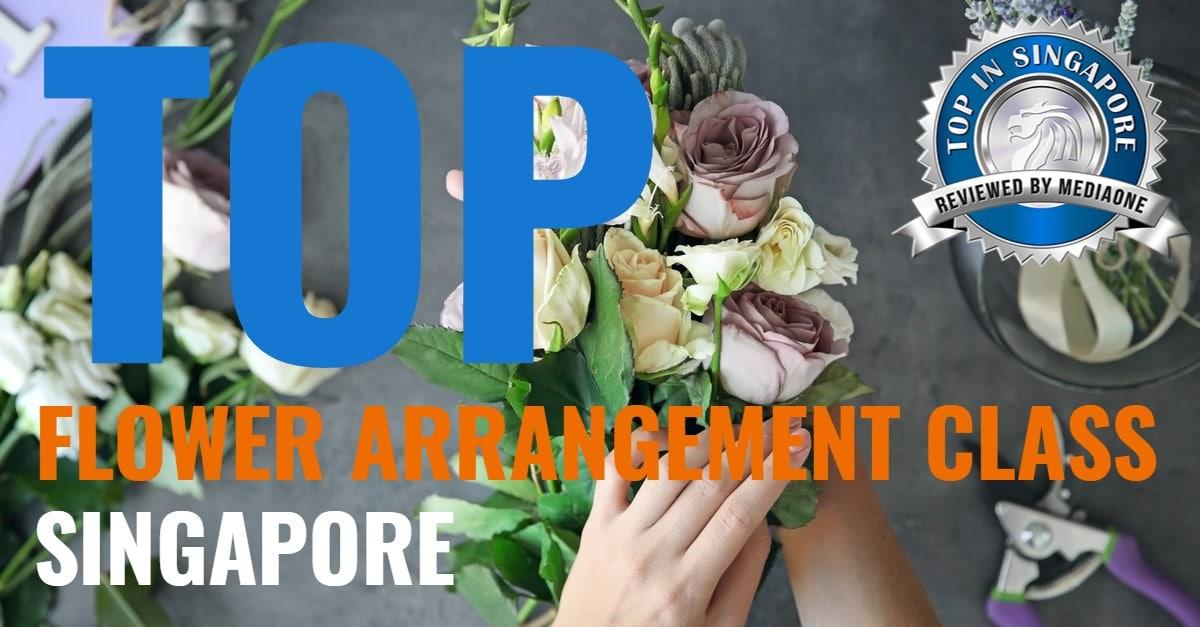 top flower arrangement classes in singapore