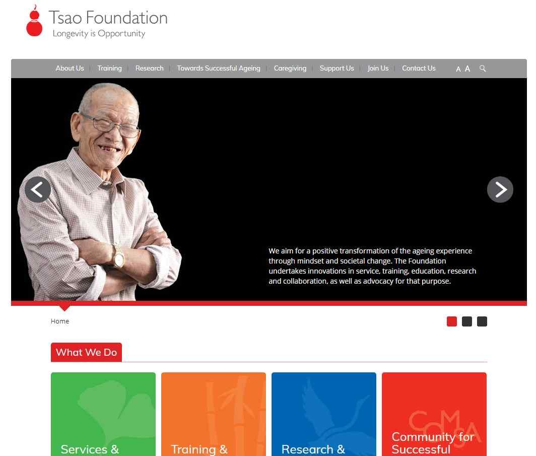 tsao foundation Top Palliative Care Services in Singapore