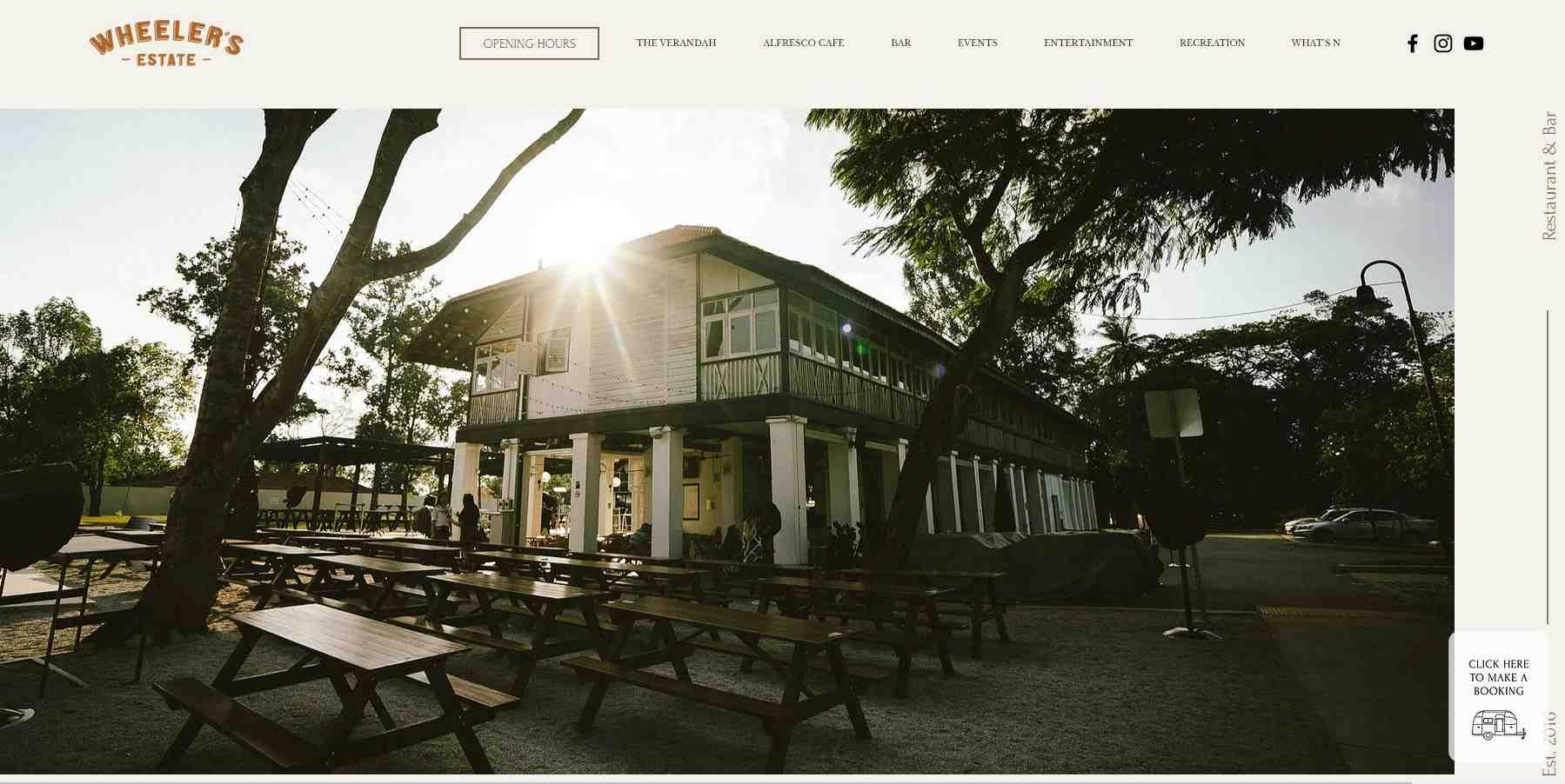 wheeler's estate Top Bars in Singapore