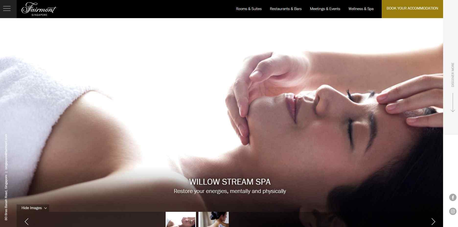 willow stream Top Couple Spas in Singapore