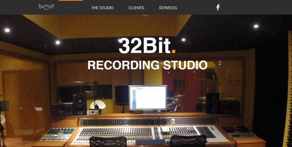 32 Bit Top Music Studios in Singapore