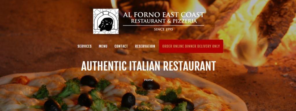 Al Forno Top Italian Restaurants In Singapore