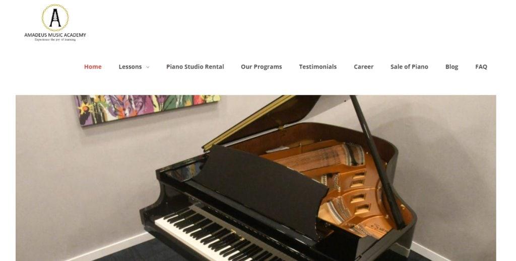 Amadeus Top Piano Lessons in Singapore
