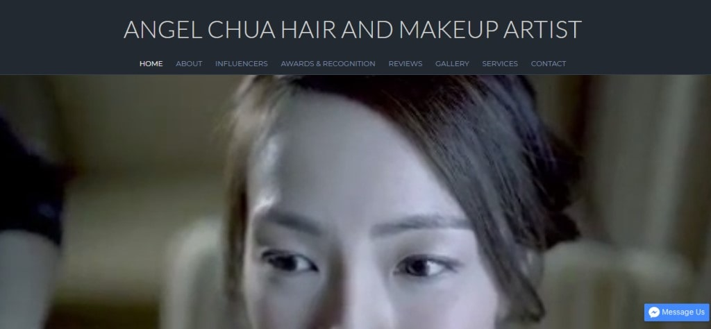 Angel Chua Top Bridal Makeup Studios in Singapore