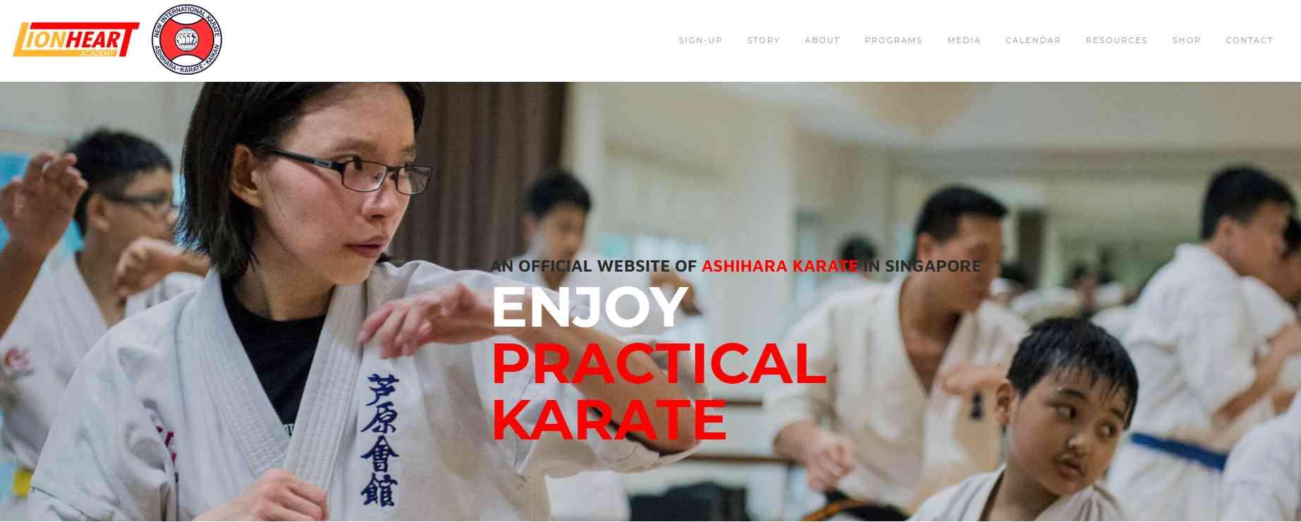 Ashihara Top Karate Classes in Singapore