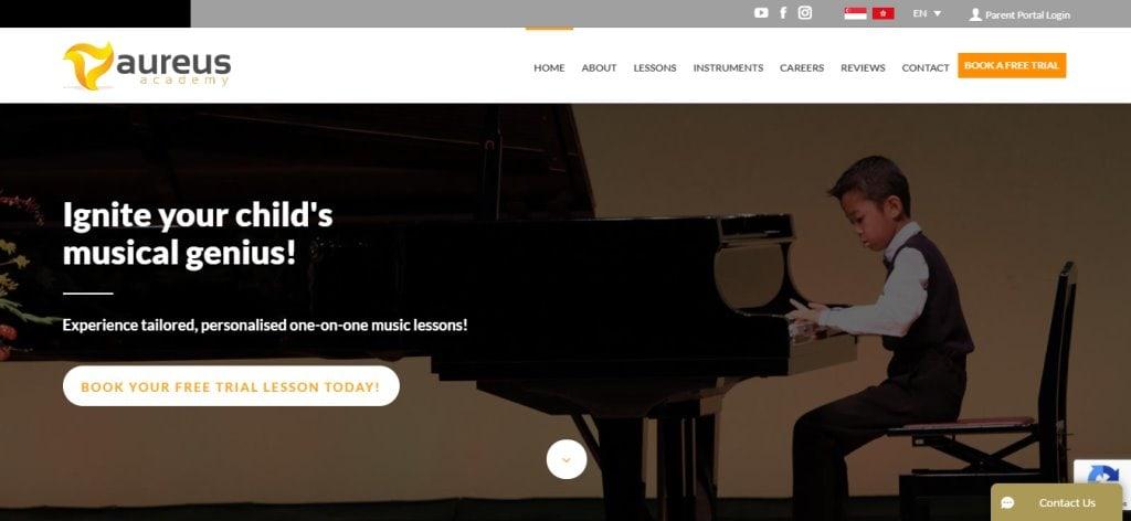 Aureus Top Piano Lessons in Singapore