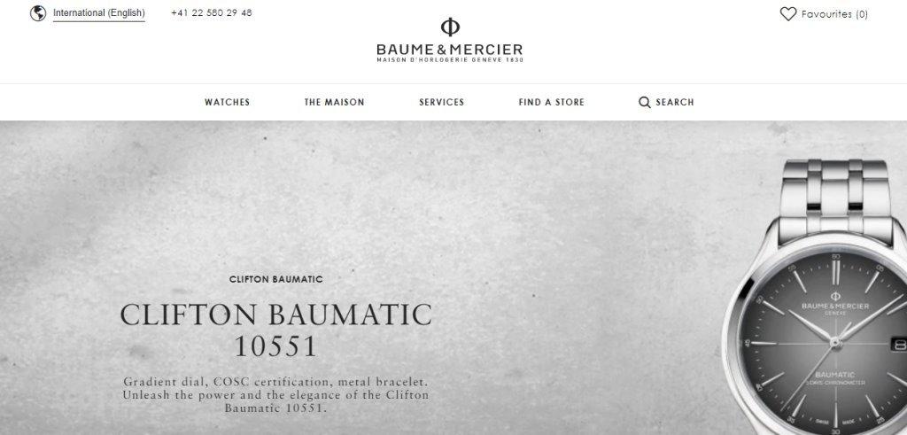 Baume Mercier Top Watch Brands for Women in Singapore