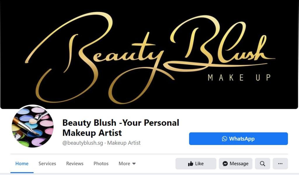 Beauty Blush Top Bridal Makeup Studios in Singapore