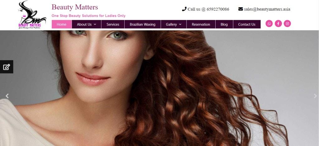 Beauty Matters Top Bridal Makeup Studios in Singapore