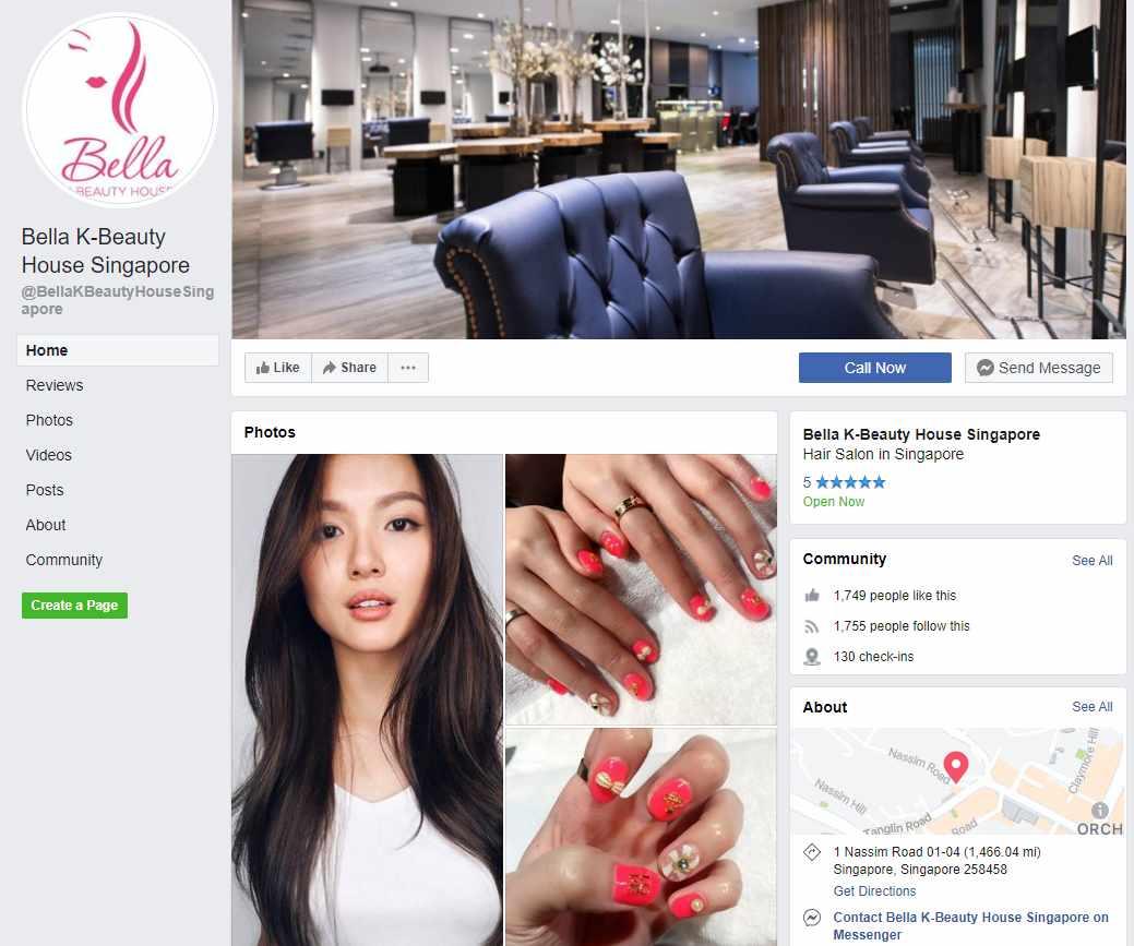 Bella K Top Korean Hair Salons in Singapore