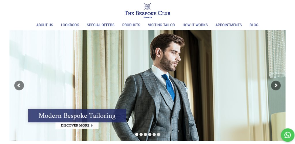 Bespoke Club Top Men's Tailors for Suits in Singapore