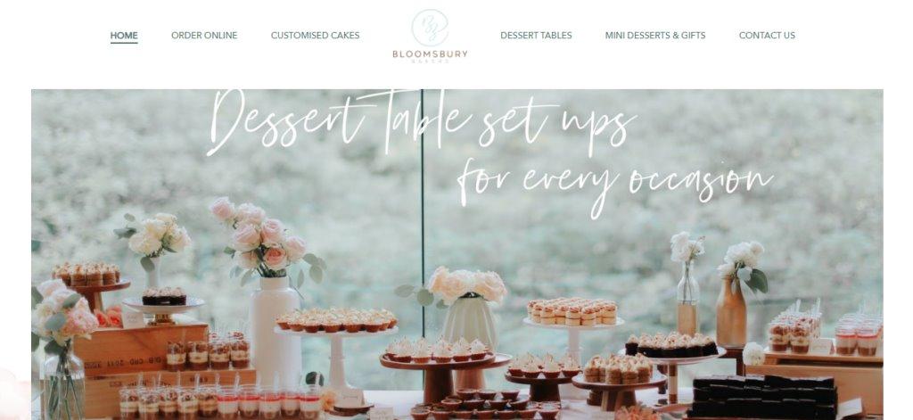 Bloomsbury Top Wedding Cake Bakeries in Singapore