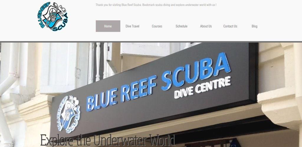 Blue Reef Scuba Top Scuba Diving Schools in Singapore