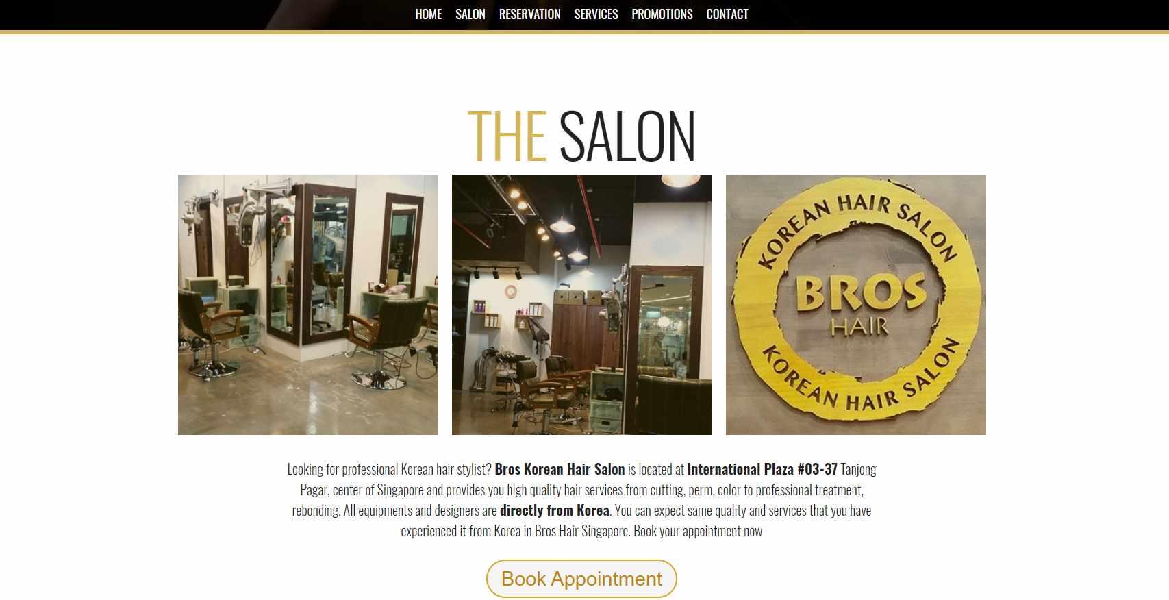 Bros Hair Salon Top Korean Hair Salons in Singapore