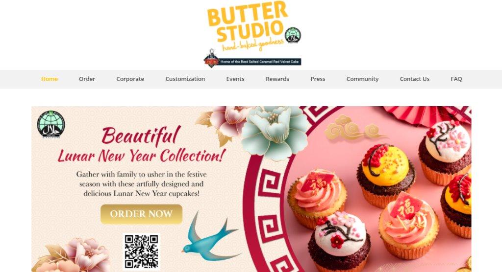 Butter Studio Top Wedding Cake Bakeries in Singapore
