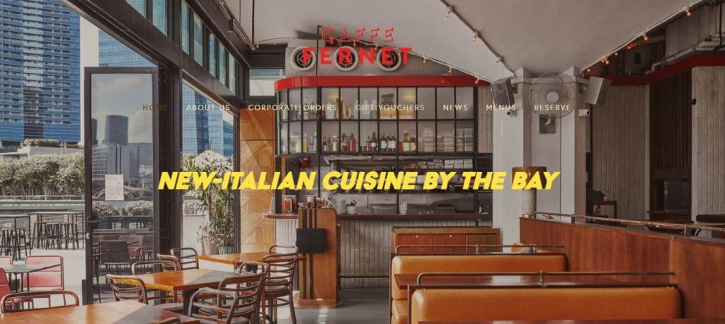 Cafe Fernet Top Italian Restaurants In Singapore