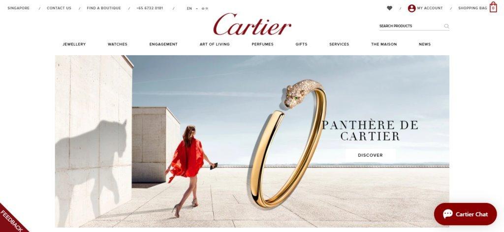 Cartier Top Watch Brands for Women in Singapore