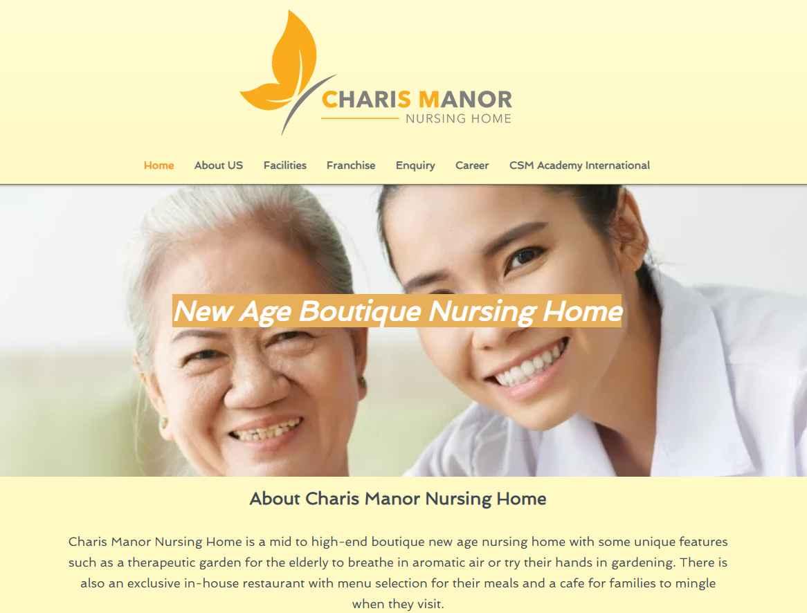Charis Manor Top Nursing Homes in Singapore