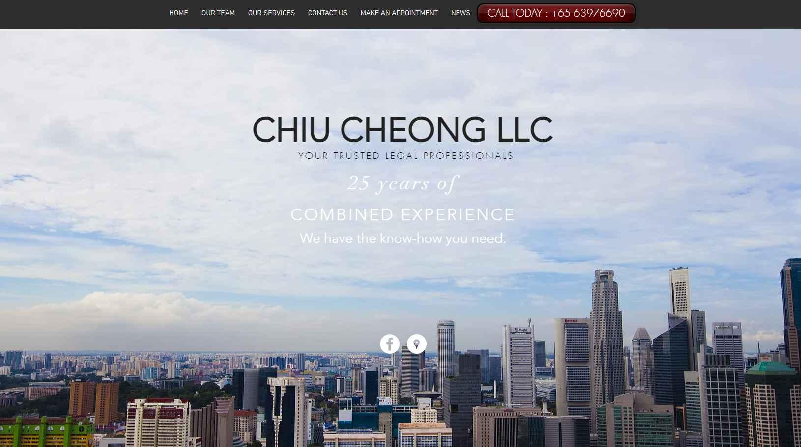 Chiu Cheong Top Notary Public in Singapore