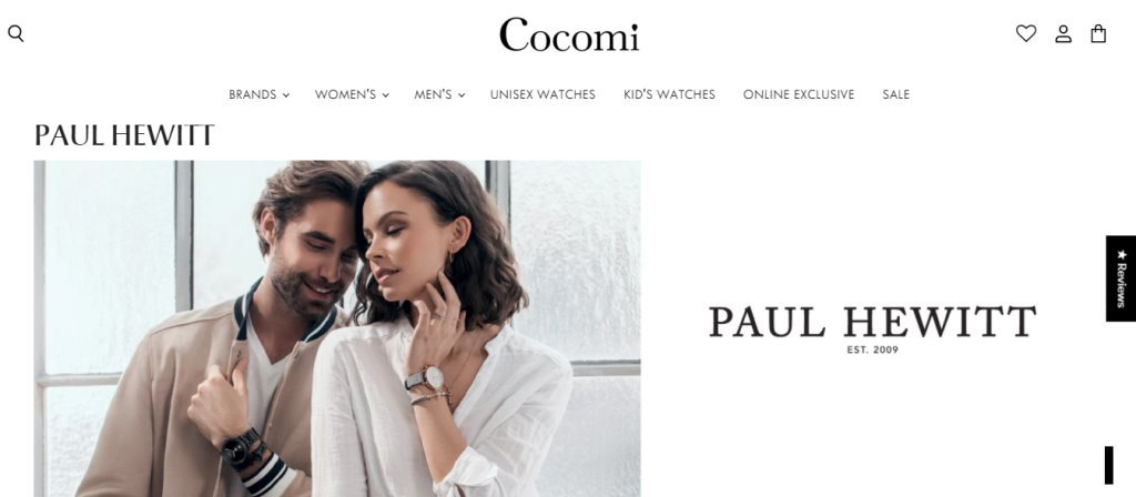 Cocomi Top Watch Brands for Women in Singapore