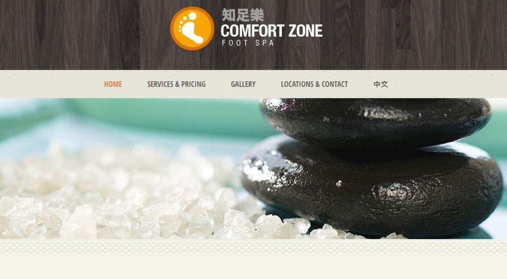 Comfort Zone Top Foot Spas in Singapore