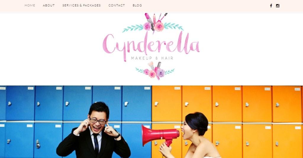 Cynderella Top Bridal Makeup Studios in Singapore