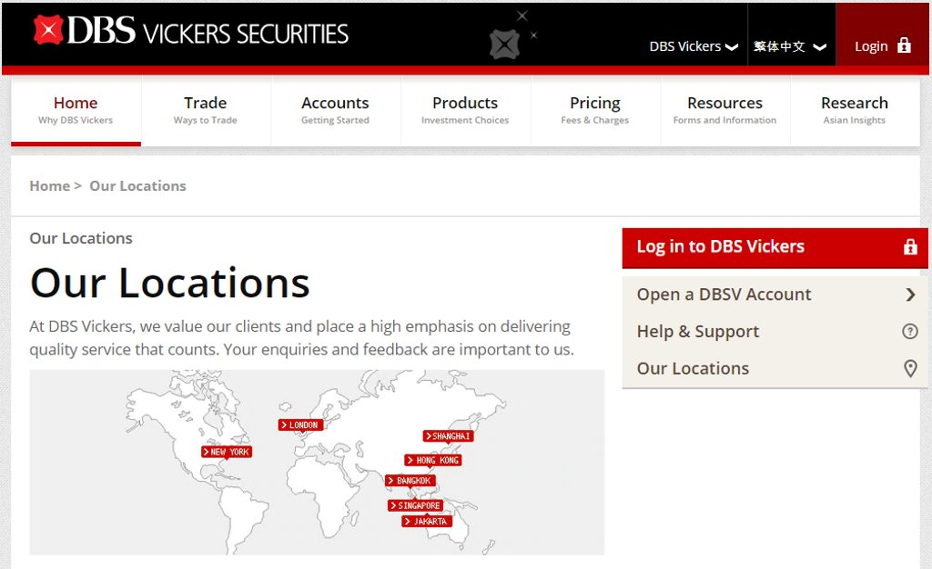 DBS Top Stock Brokers in Singapore