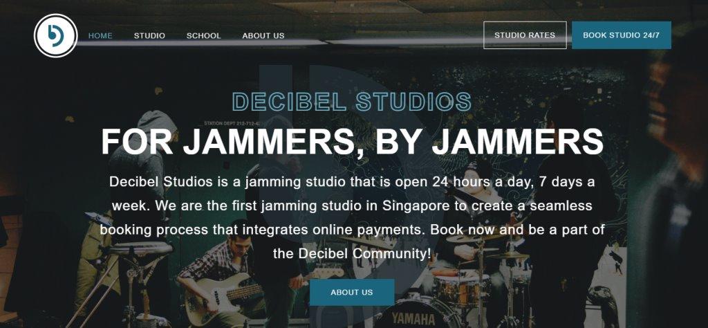 Decibel Studios Top Music Studios in Singapore