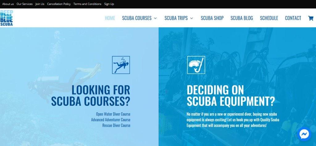 Deep Blue Scuba Top Scuba Diving Schools in Singapore