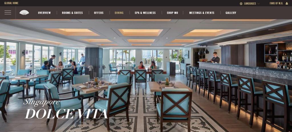 Dolce Vita Top Italian Restaurants In Singapore