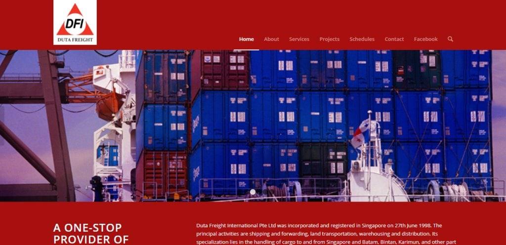 Duta Freight Top Freight Forwarding Companies in Singapore