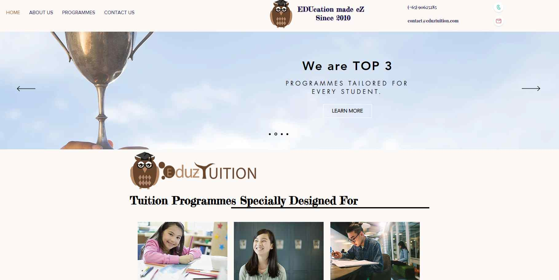 EduzTuition Top Chinese Tuition in Singapore