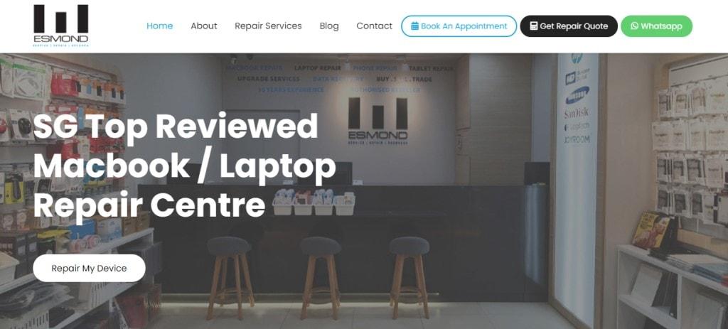 Esmond Top Phone Repair Services in Singapore