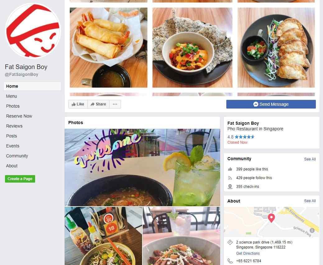 Fat Saigon Boy Top Vietnamese Food Restaurants in Singapore