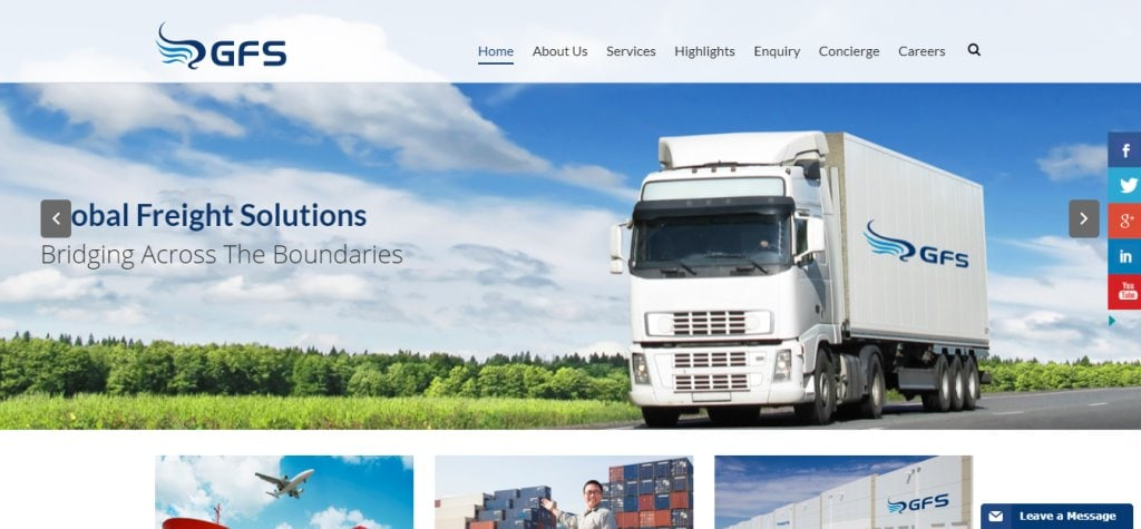 GFS Top Freight Forwarding Companies in Singapore