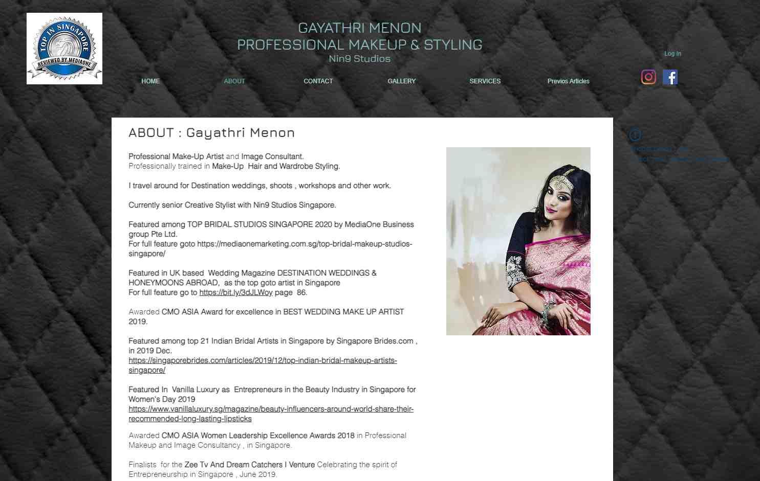 Gayathri menon Top Bridal Makeup