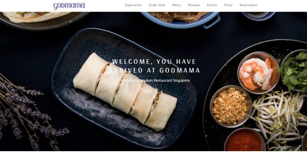 Godmama Top Peranakan Restaurants in Singapore