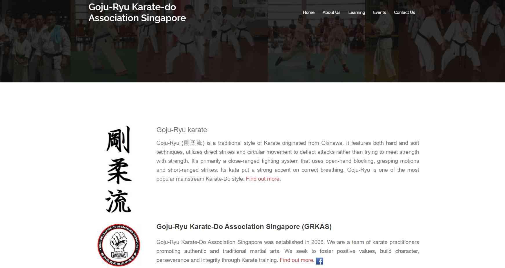Goju ryu Top Karate Classes in Singapore