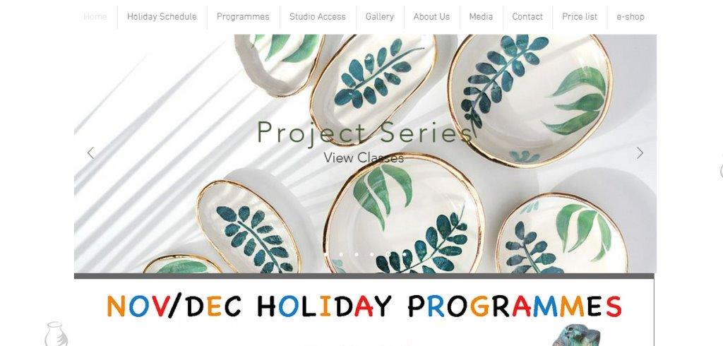 Good man ceramic Top Pottery Studios in Singapore