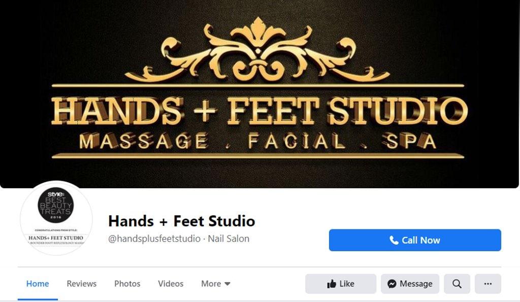 Hands + Feet Top Foot Spas in Singapore