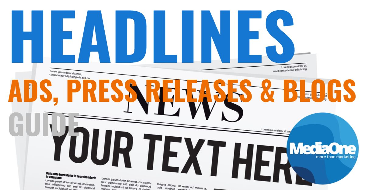 How To Write Killer Headlines For Your Ads, Press Releases & Blogs