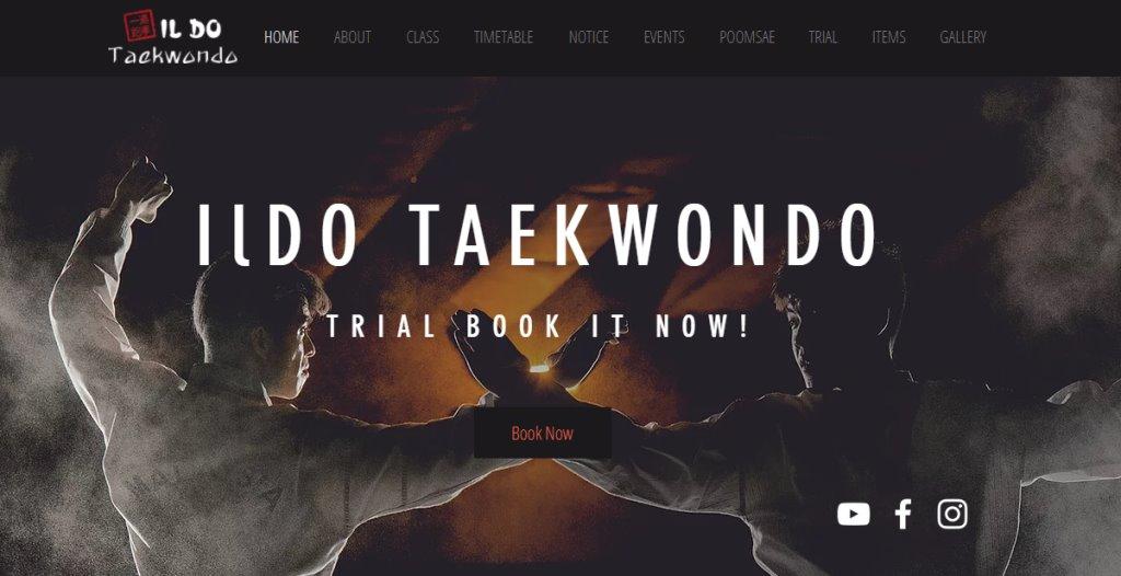 Ildo Taekwondo Top Taekwondo Classes in Singapore