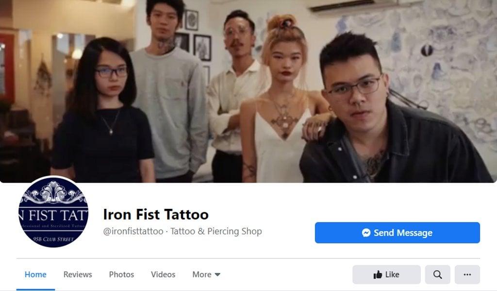 Iron Fist Tattoo Top Tattoo Shops in Singapore