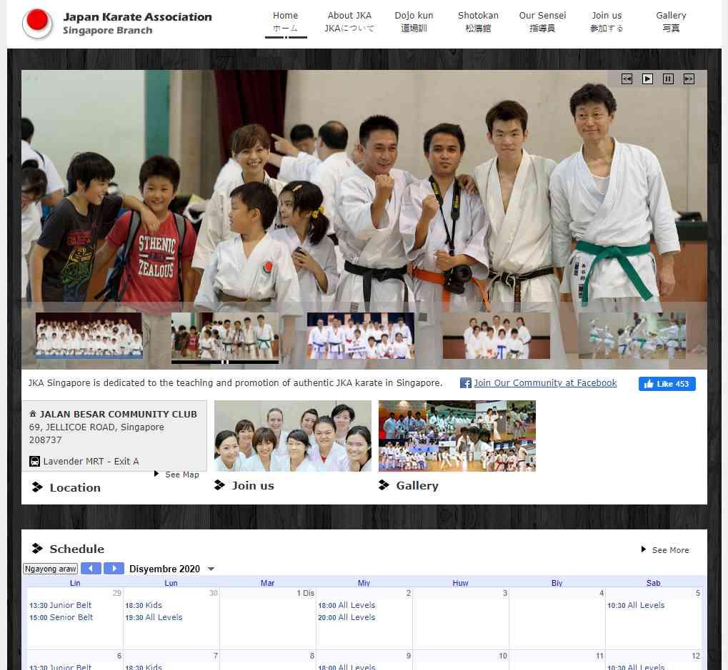 Japan Karate Association Top Karate Classes in Singapore