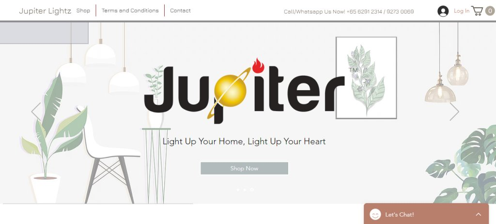 Jupiter Lights Top Lighting Shops and Specialists in Singapore