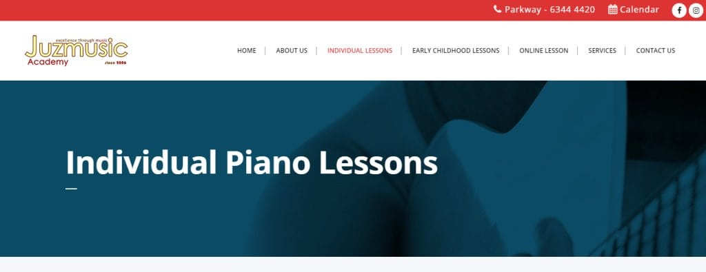 Juz Music Top Piano Lessons in Singapore