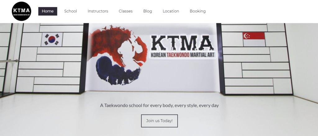 KTMA Top Taekwondo Classes in Singapore