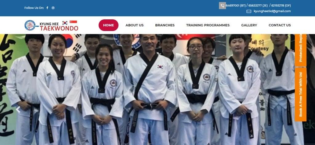 Kyung Hee Top Taekwondo Classes in Singapore