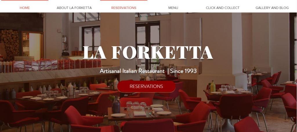 La Forketta Top Italian Restaurants In Singapore